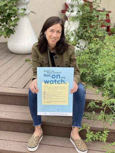 1 Amy holding pledge